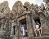 Angkor Wat Doorway Siem Reap Cambodia