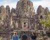 Bayon Walk SiemReap Cambodia
