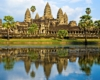 Angkor Wat Temple before sunset, Siem Reap, Cambodia