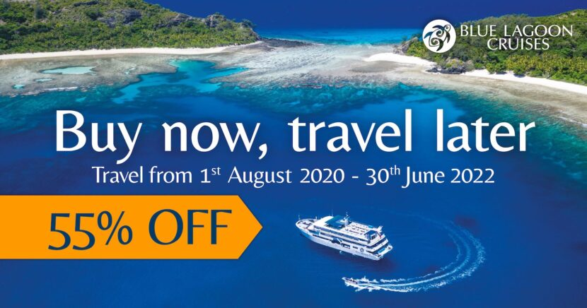 Blue Lagoon Cruises 55 off  - 55% Off Fiji Cruise