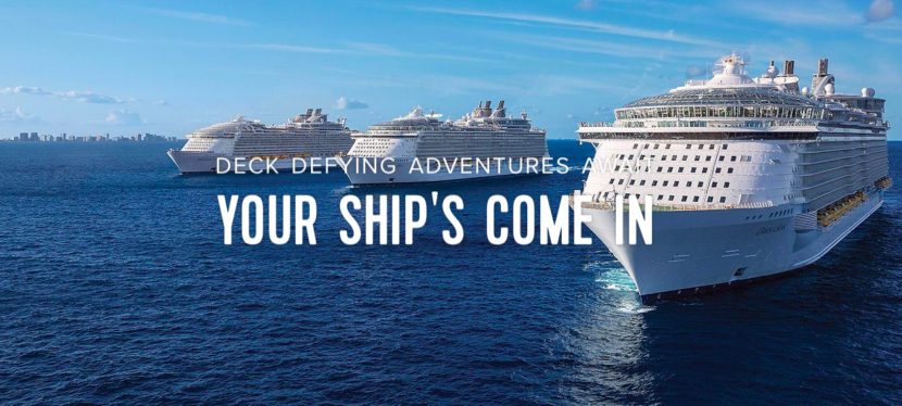 Cruise Ship adventure banner  - Cruising Specials!