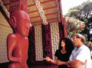 MC56 Meeting House Waitangi Northland Destination Northland  - Travel to New Zealand through Books!