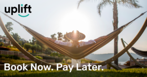 Uplift facebook 5 - Book Now—Enjoy Now. And Pay Later!